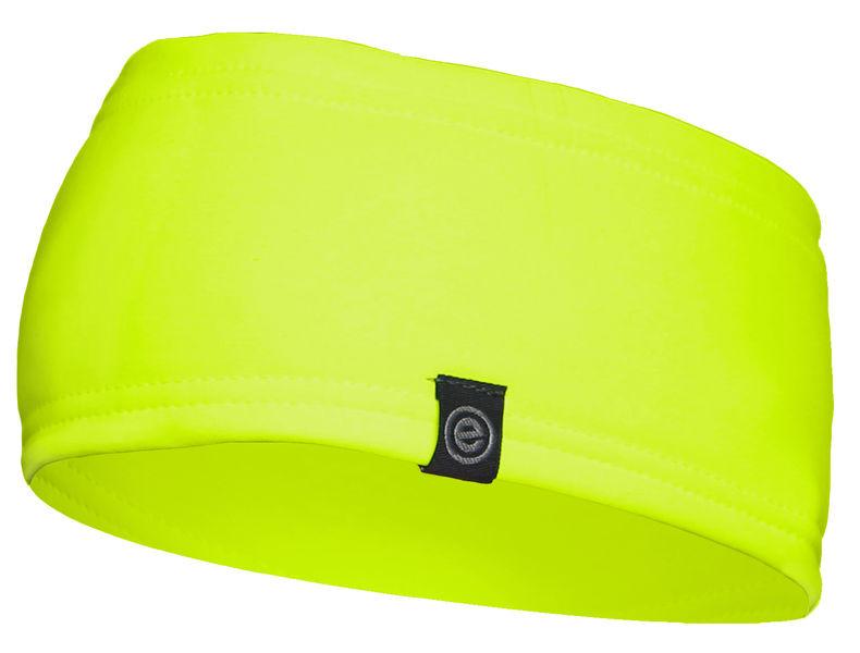 Etape - čelenka CROWN, žlutá fluo