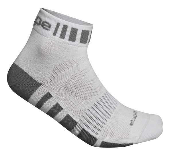 Etape - ponožky FEET, bílá/šedá