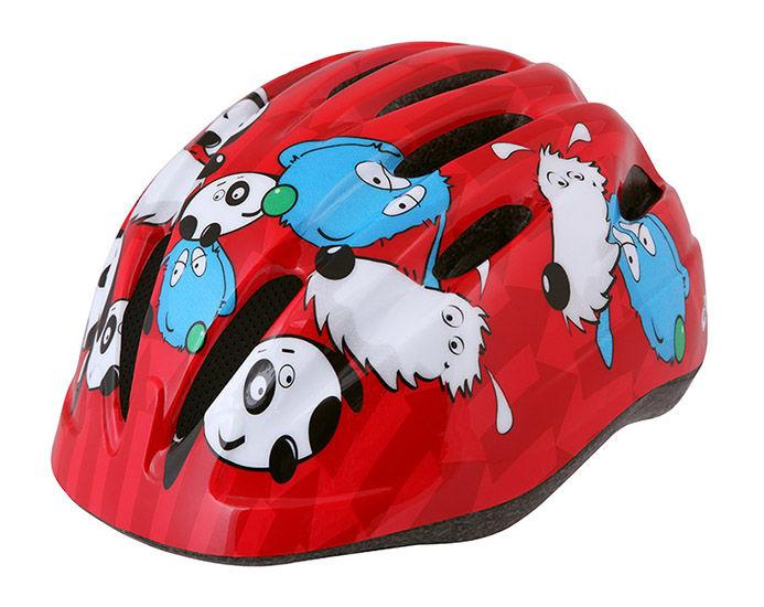 Etape - dětská přilba na kolo KIKI, červená