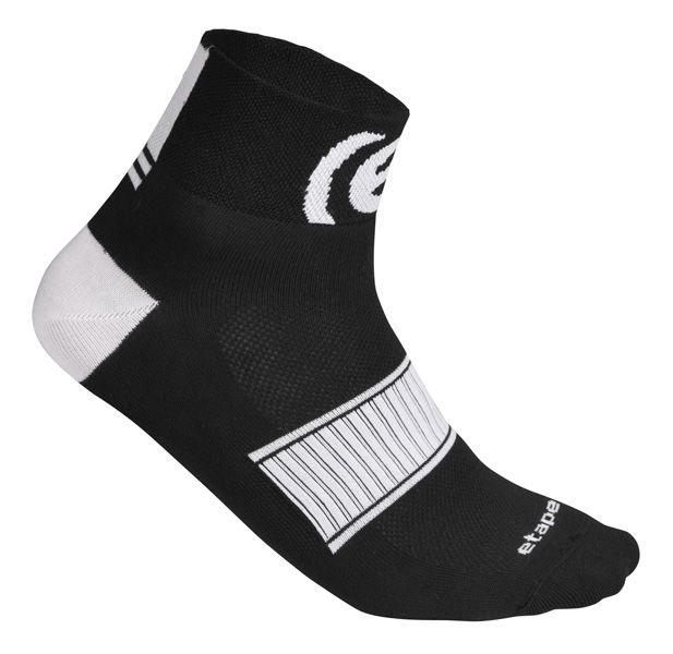 Etape - ponožky SOX, černá/bílá