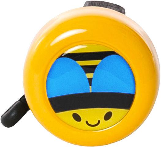 ONE - dětský zvonek na kolo ZOO, žlutá